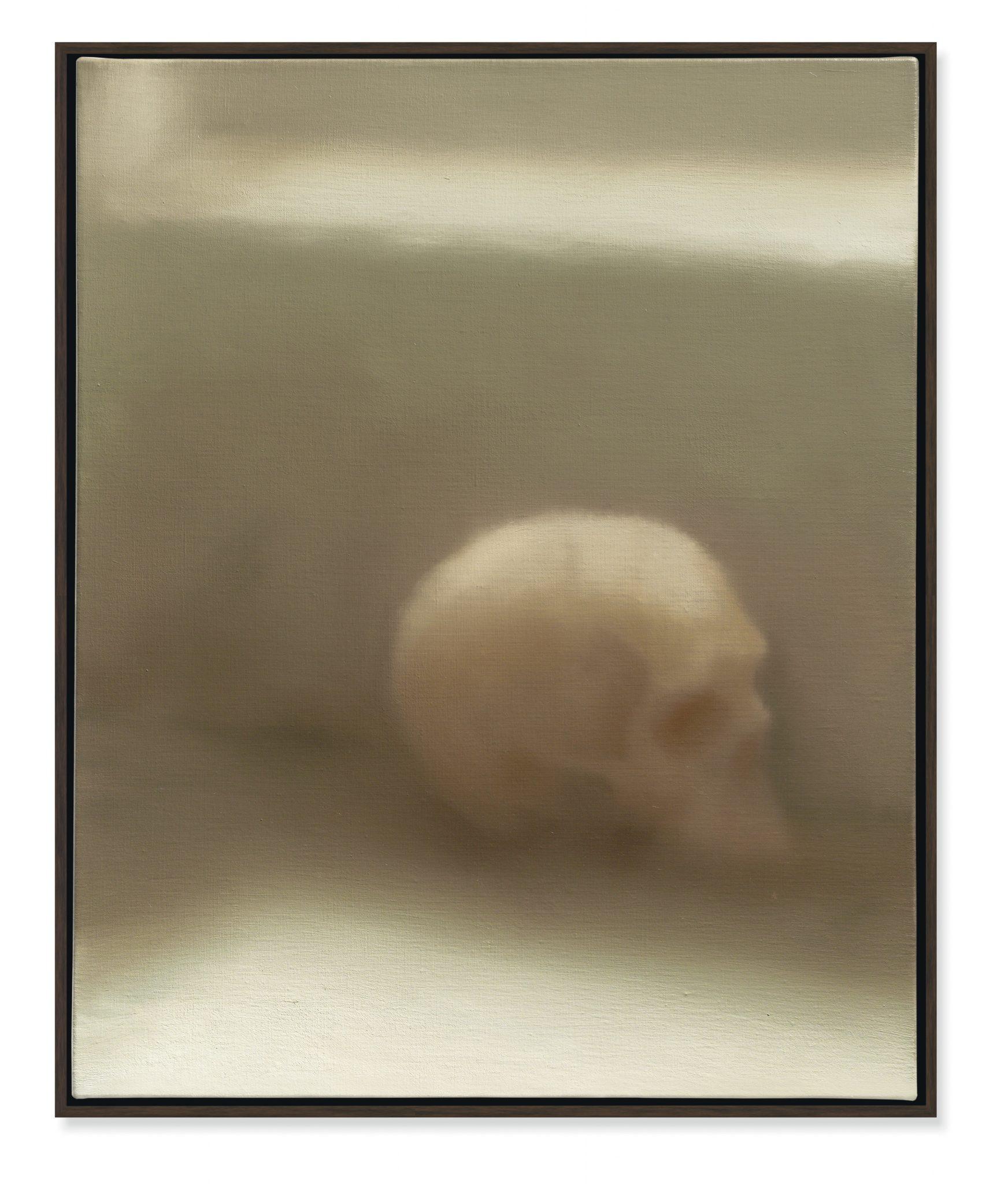 Schadel (Skull), Gerhard Richter