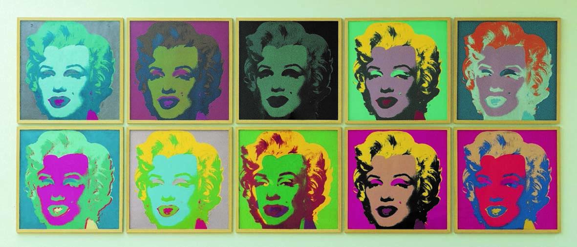 Marilyn Monroe; Andy Wharol