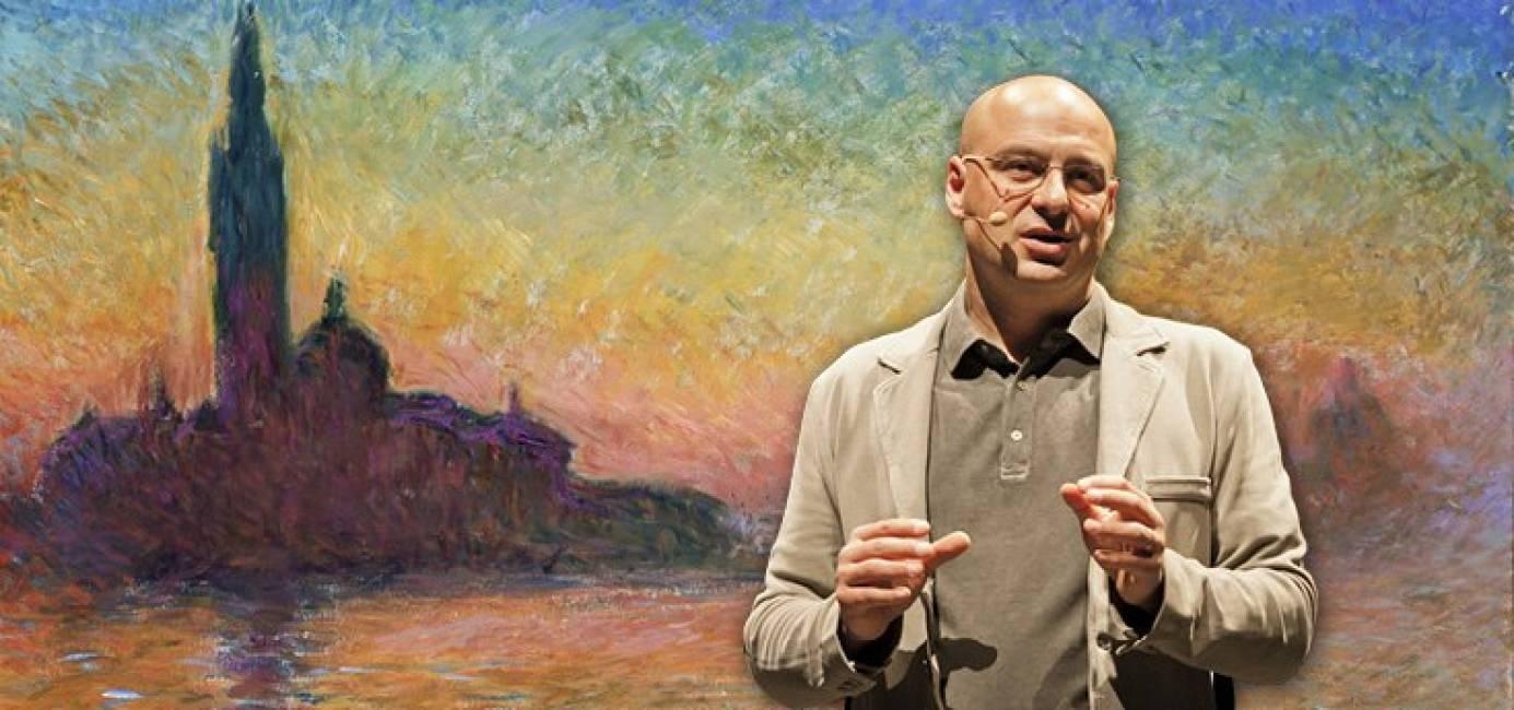 Marco Goldinracconta in teatro la grande storia dell'impressionismo