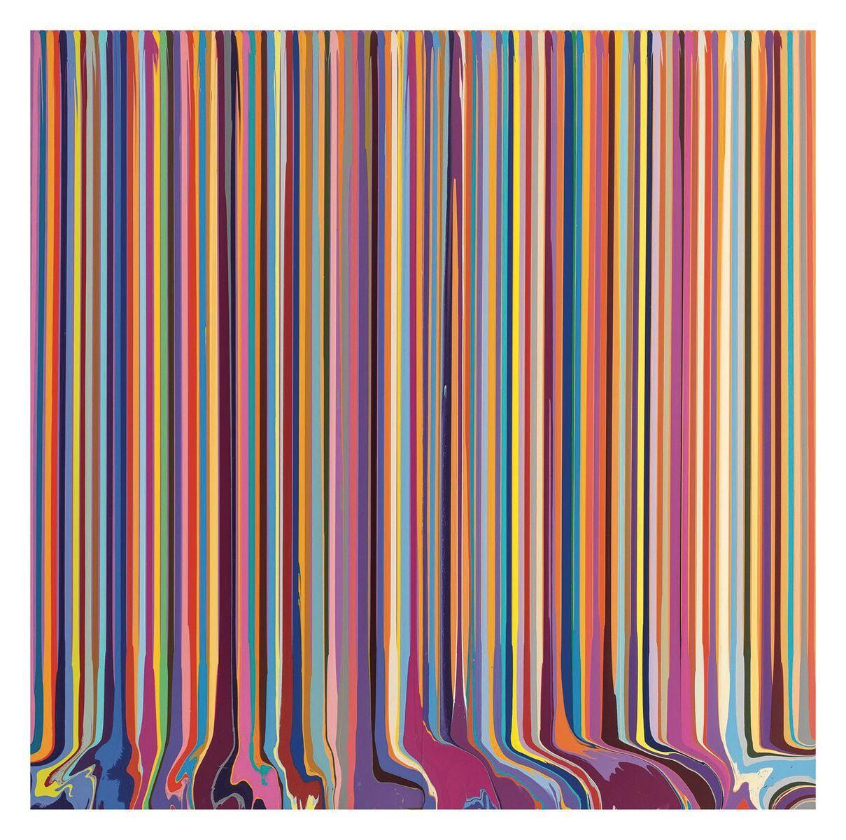 Asta 47 – Arte moderna e contemporanea, Roma Lotto 387 Ian Davenport After Bonnard, 2012 Acrilico su acciaio inox Venduto a € 100.000