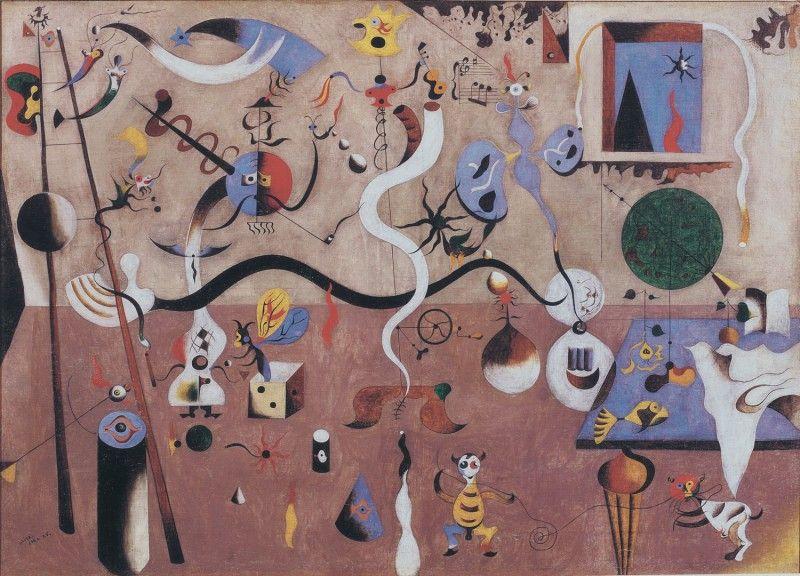 Joan Miró, Il carnevale di Arlecchino, 1924-25ì