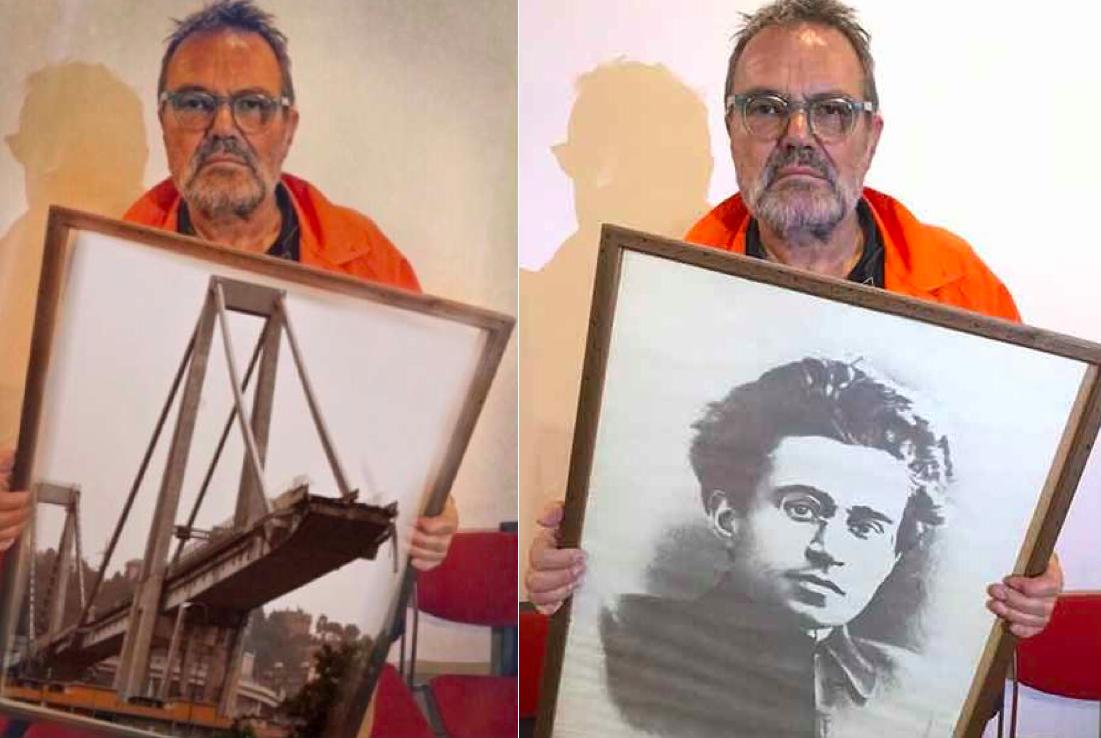 Oliviero Toscani, ladro di felicità. A Genova, si manifestano i limiti di un non artista, sé dicente rivoluzionario, abituato a dissacrare