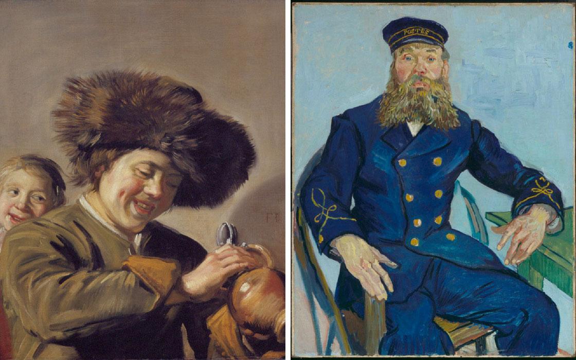 Frans Hals a confronto con Van Gogh
