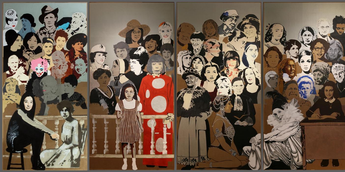 Women's History Mural. Lo chef collezionista e l'arte di Jann Haworth, a Milano
