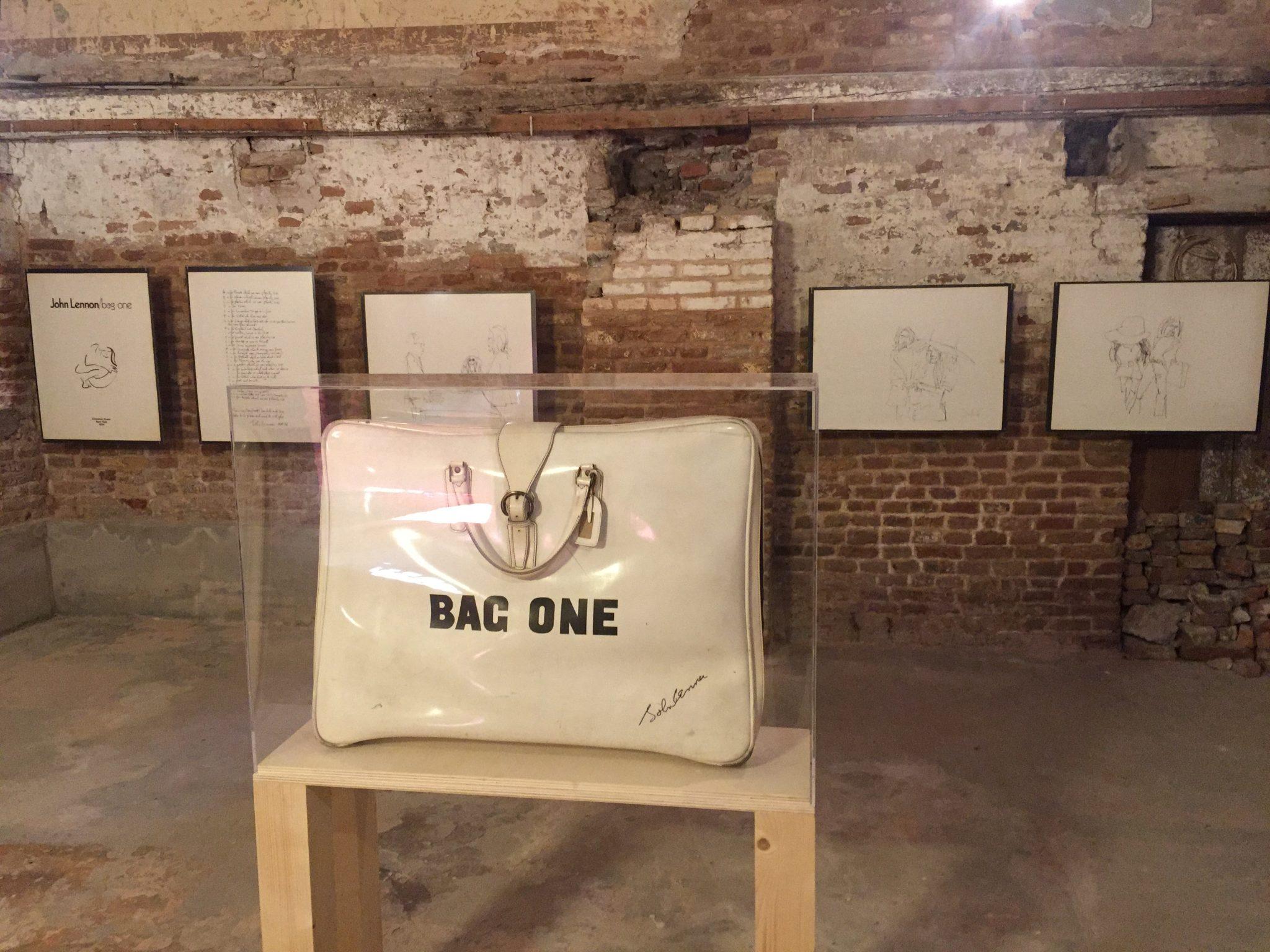 WATER/MATER; Bag One; John Lennon; Yoko Ono