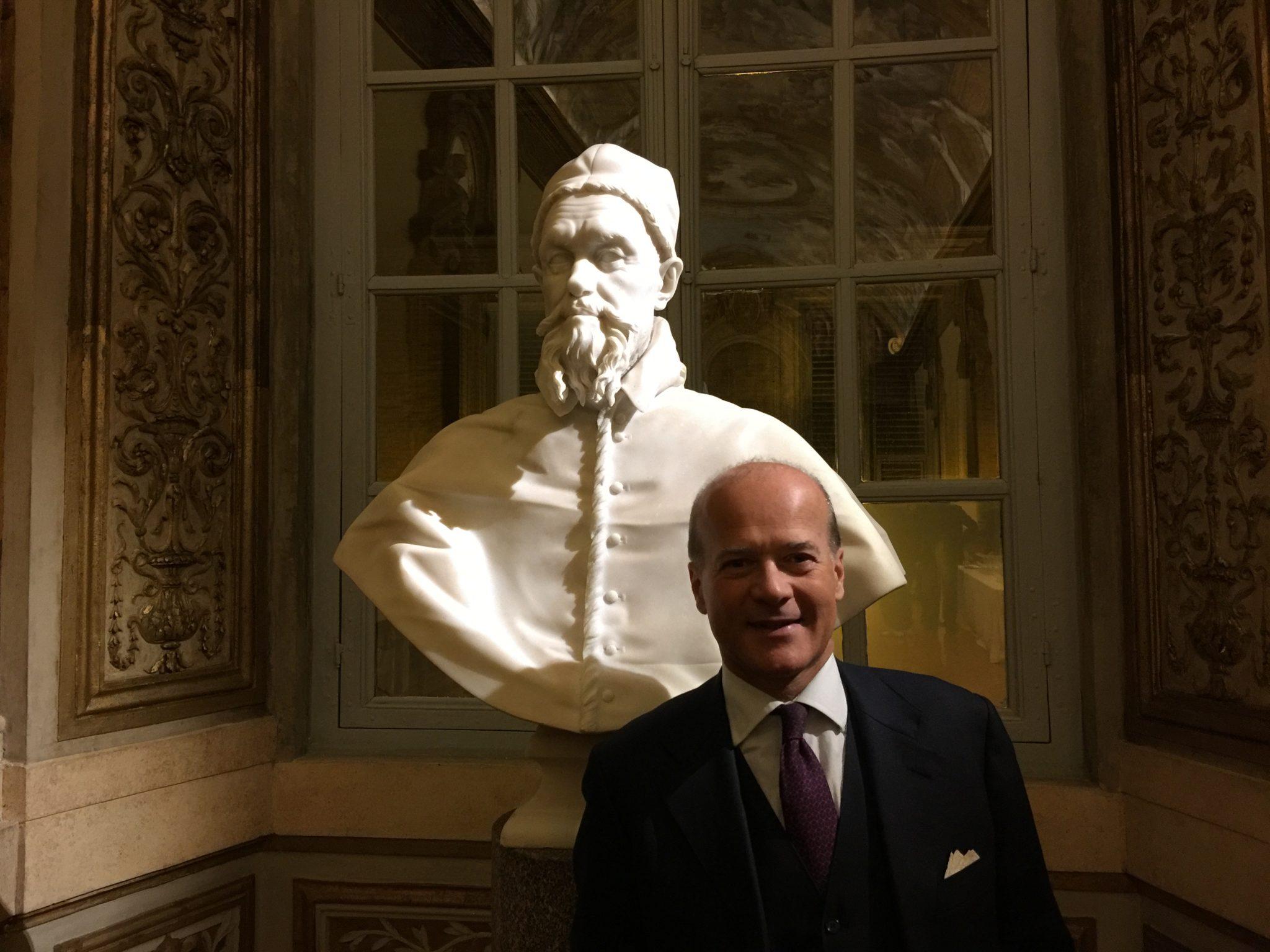 Intervista a Fabiano Forti Bernini, ultimo discendente diretto dell'artista Gian Lorenzo Bernini