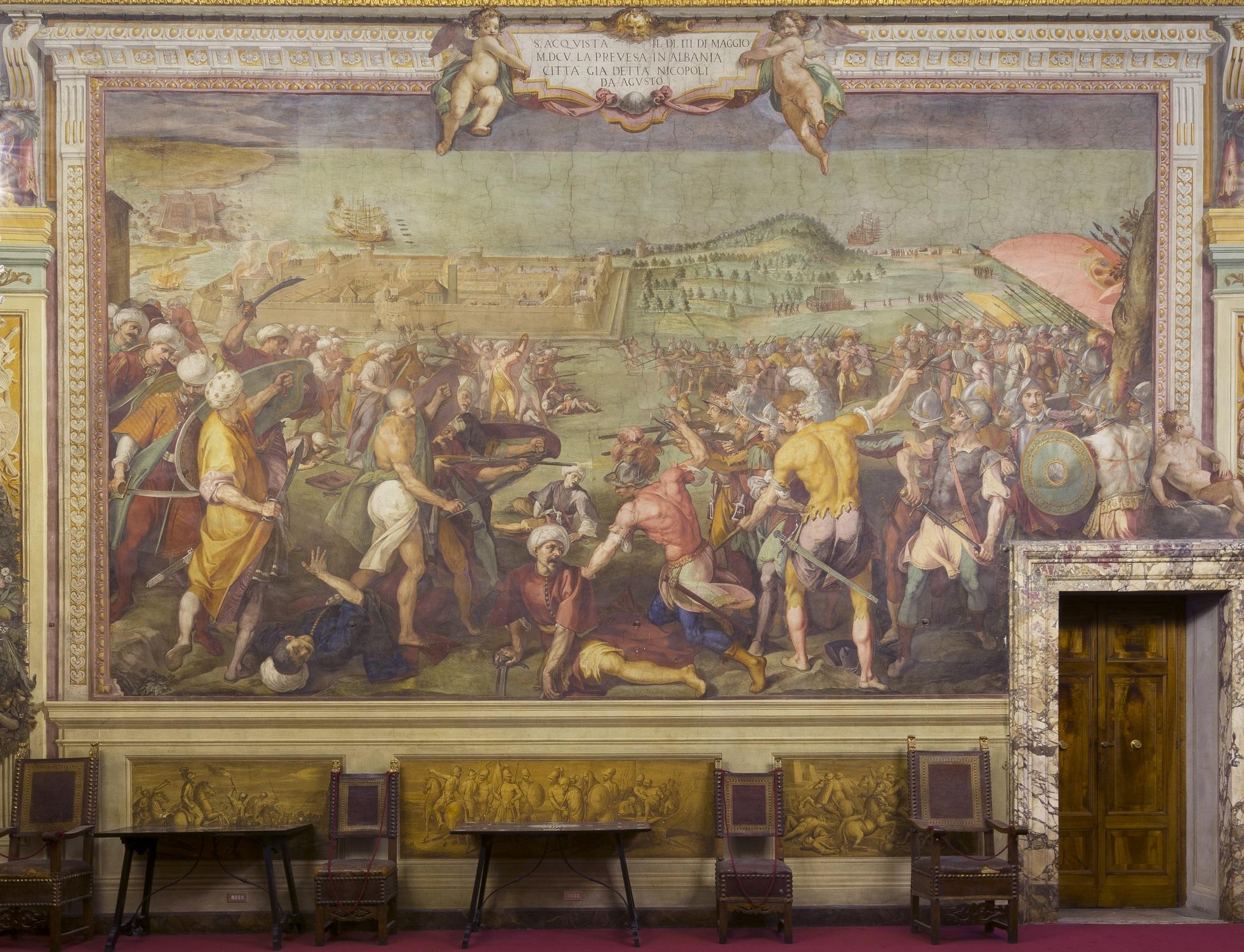 Veronica Atkins dona un milione di dollari alle Gallerie degli Uffizi. Verrà restaurata la Sala di Bona