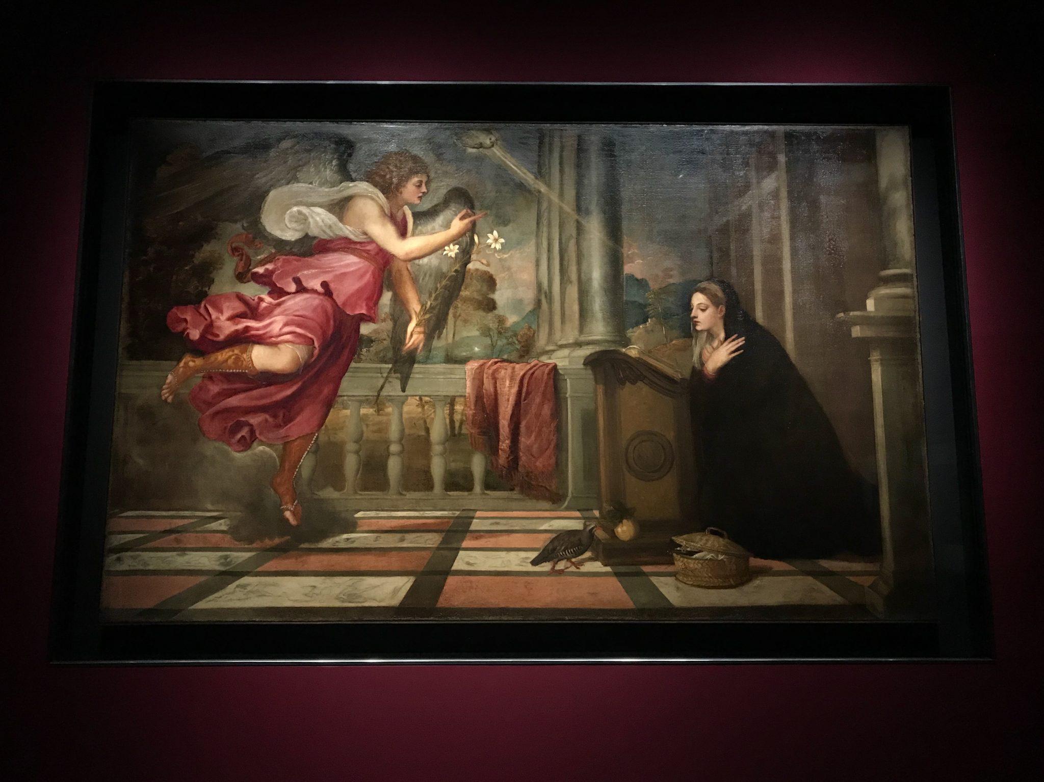 Tiziano; Annunciaizone; Tiziano/Richter il cielo sulla terra; Richter