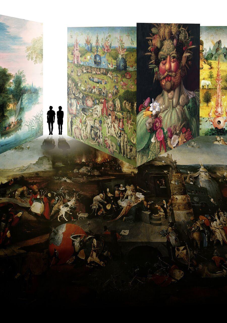 """Bosch, Brueghel e Arcimboldo """"immersivi"""" a Pisa. Tra magia e alchimie """"digitali"""""""