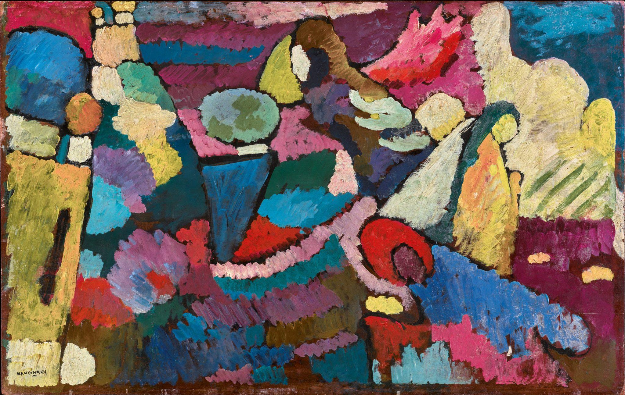 Kandinsky, Improvisation auf Mahogoni