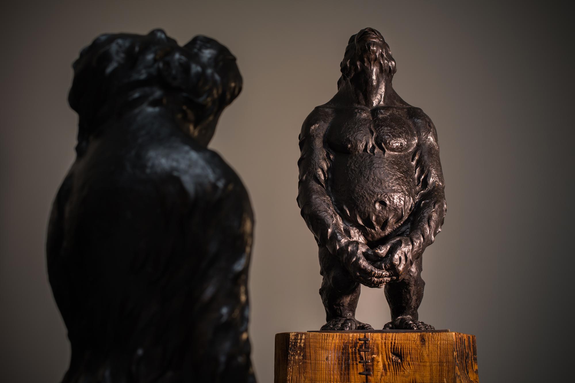 Liu Ruowang, Original Sin, 2011-2013, bronzo ph. Michele Stanzione, courtesy Lorenzelli Arte