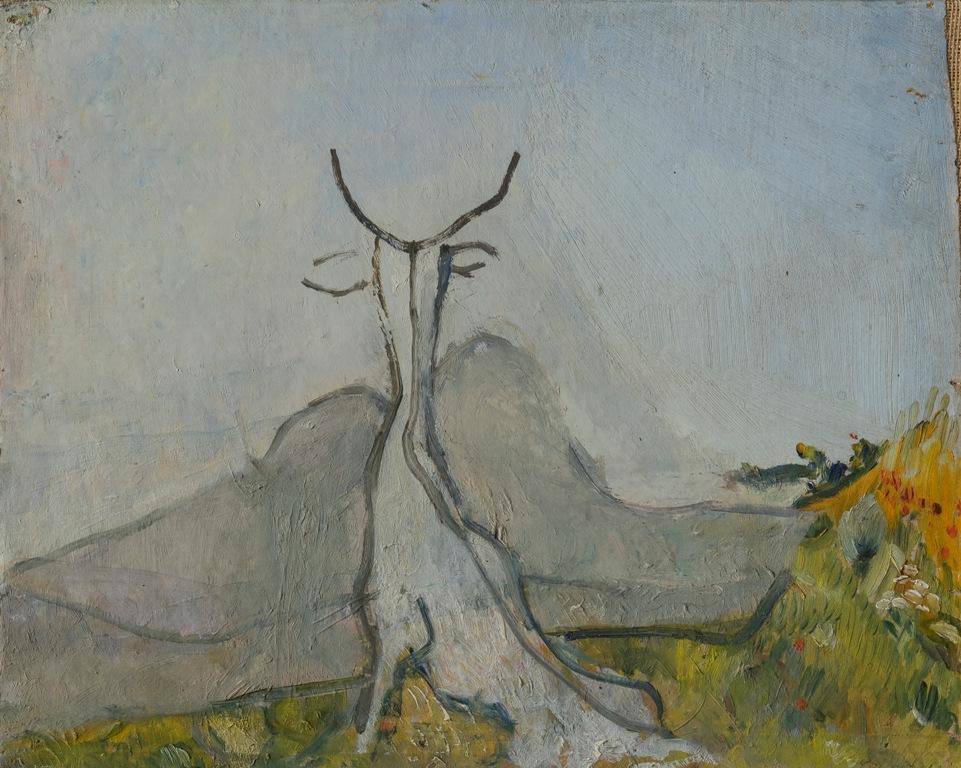 OSVALDO LICINIPaesaggio Fantastico (Il Capro), 1927 - ArtsLife