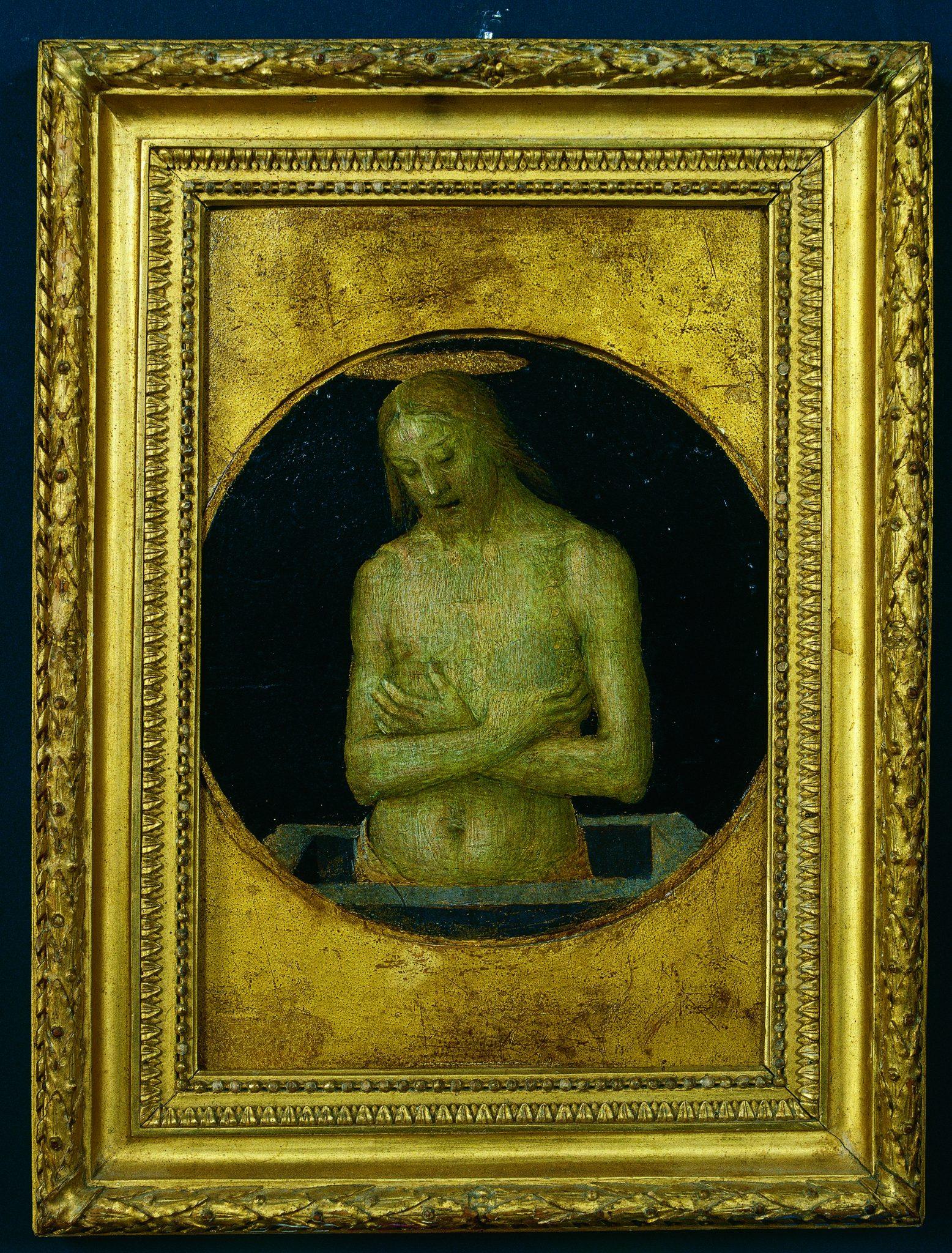 Perugino; Cristo della Passione; Dai Monti Azzurri all'Adriatico