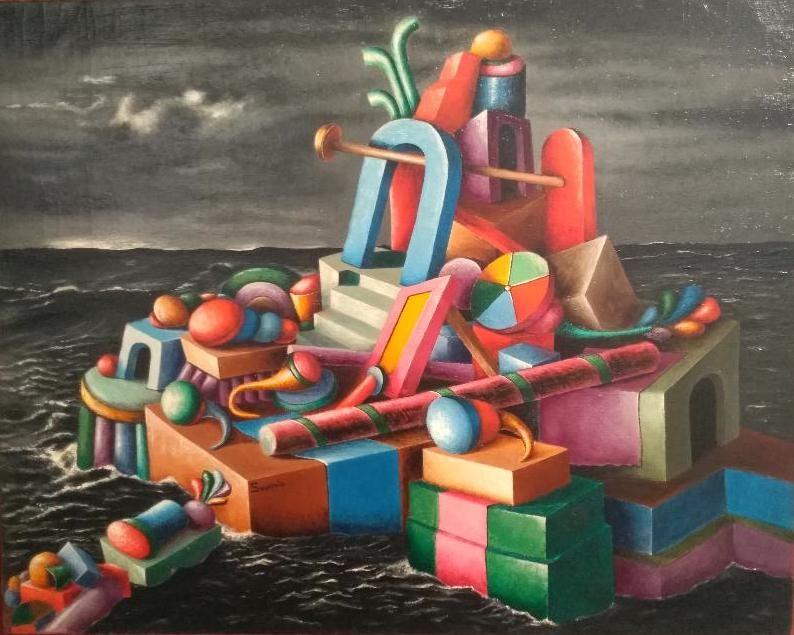 Metafisica, Realismo Magico, Neometafisica. Cent'anni di capolavori, a Vercelli