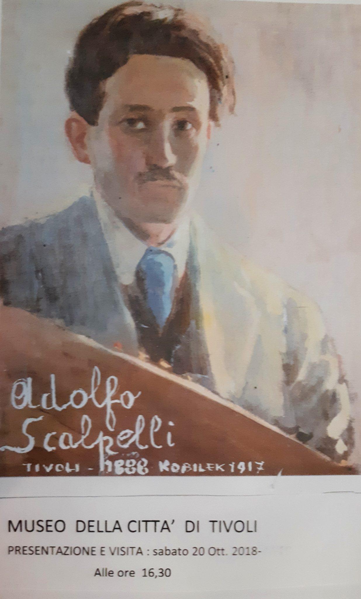 Diario Pittorico. Tivoli celebra l'artista tiburtino Adolfo Scalpelli