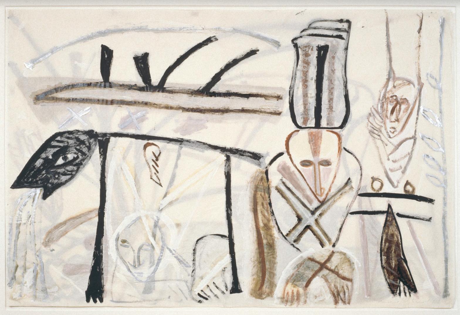 Mimmo Paladino, Senza titolo, 1992