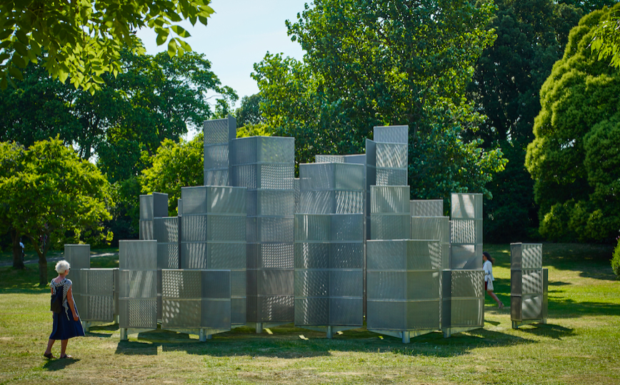 Optic Labyrinth by Conrad Shawcross (b.1977, UK), Frieze Sculpture 2018