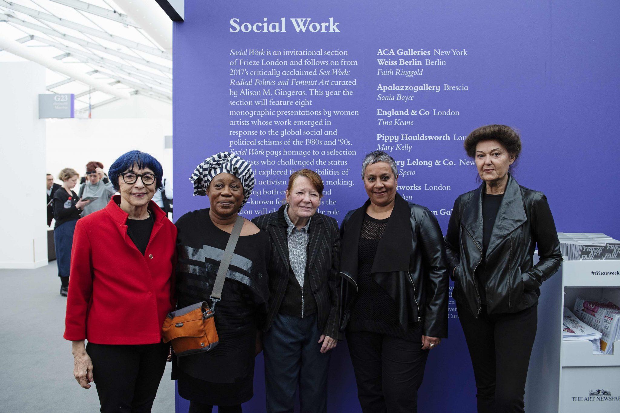 Social work a Frieze London 2018. Le artiste che hanno sfidato il mercato per la sezione migliore della fiera londinese