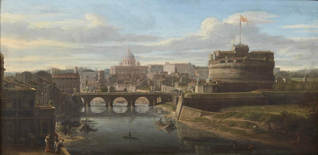 'Pittore di Roma moderna', Gaspar Vanvitelli in asta da Pandolfini. Stima fino a 800 mila€