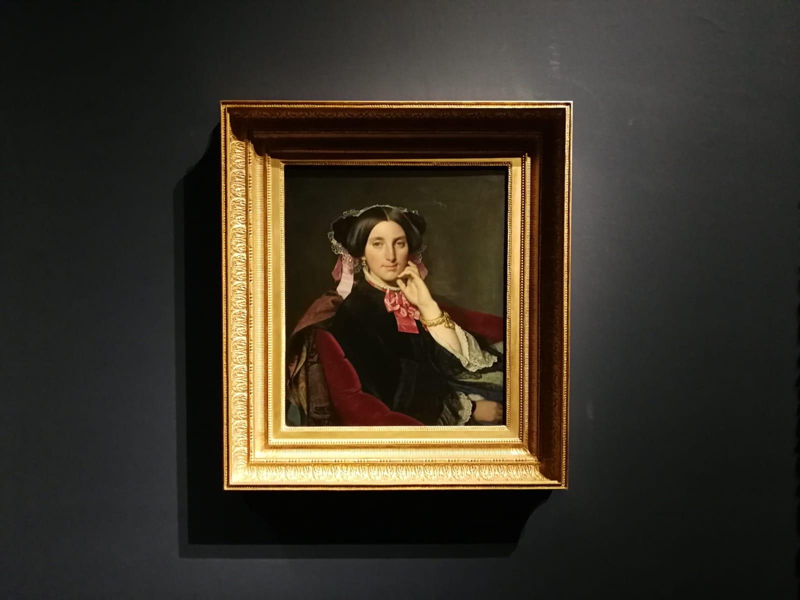 Jean-Auguste-Dominique Ingres, Ritratto di Caroline Gonse, Foto Artslife