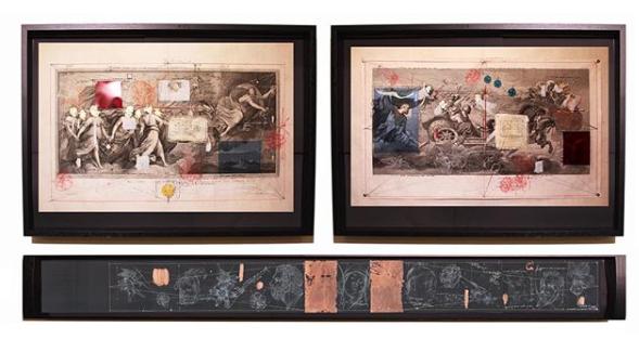 """Lo studio del passato e la """"pittura verbale"""" di Fabrizio Cotognini"""