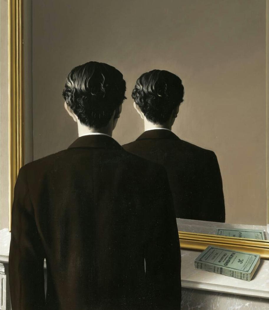 René Magritte, La Reproduction Interdite