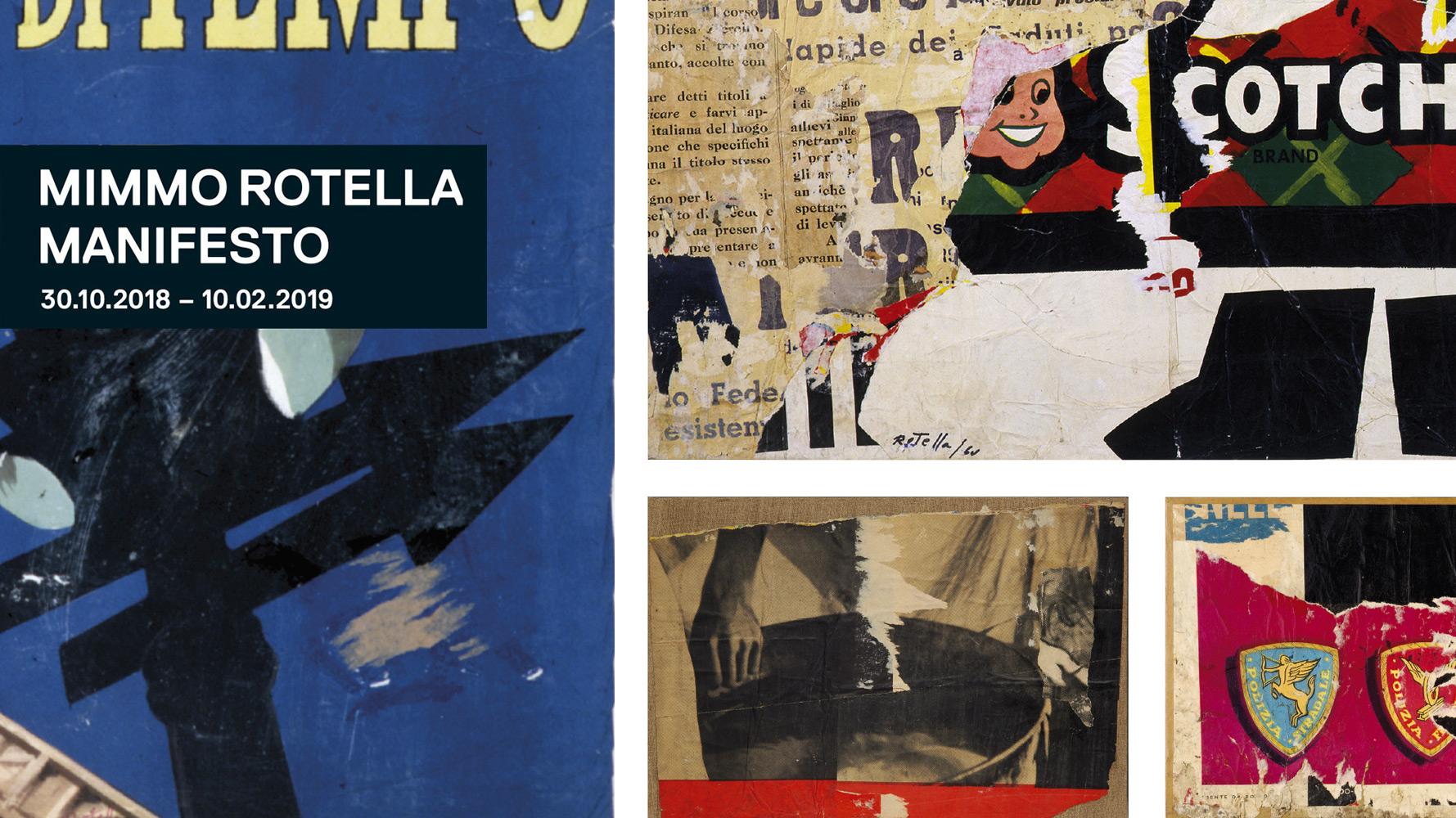 Locandina della msotra Immagine © Galleria Nazionale d'Arte Moderna e Contemporanea di Romra
