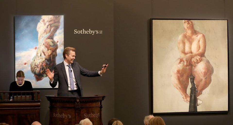 Jenny Saville incoronata regina da Sotheby's. Nuovo record a 9,5 milioni £