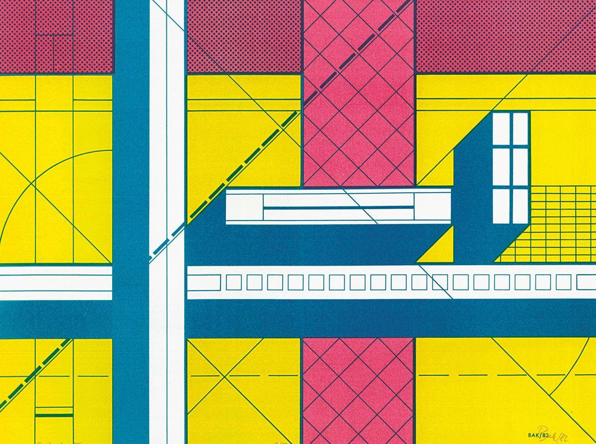 Imre Bak, Postmodern IV, 1982