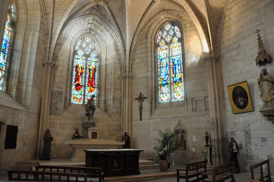 L'abside della Chiesa di Saint Florentin Courtesy Municipio di Amboise