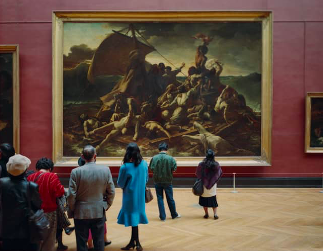 Thomas Struth. Louvre 4, Paris 1989 Chromogenic print 179,3 x 213,2 cm