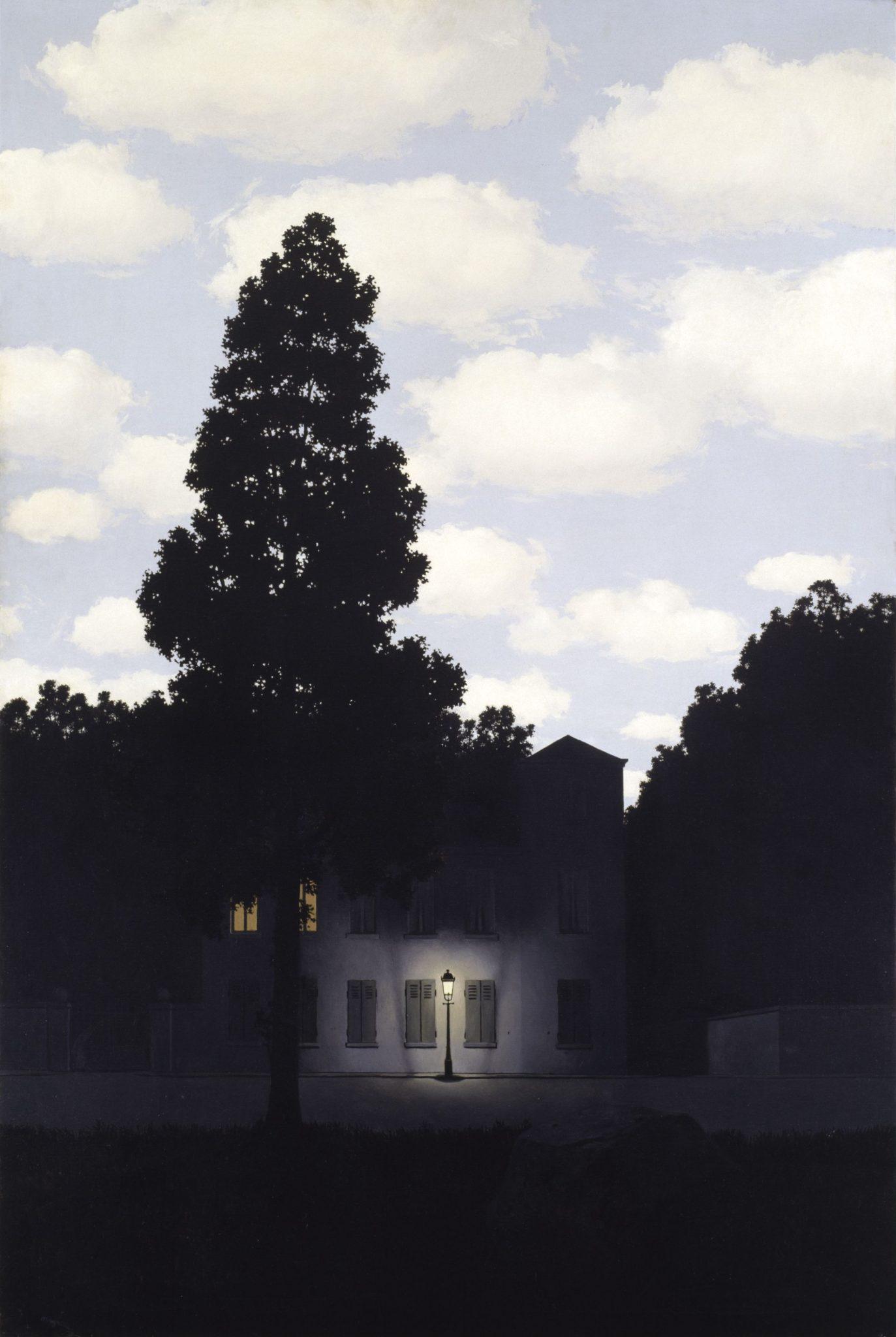 Magritte, Impero della luce, Guggenheim, Venezia