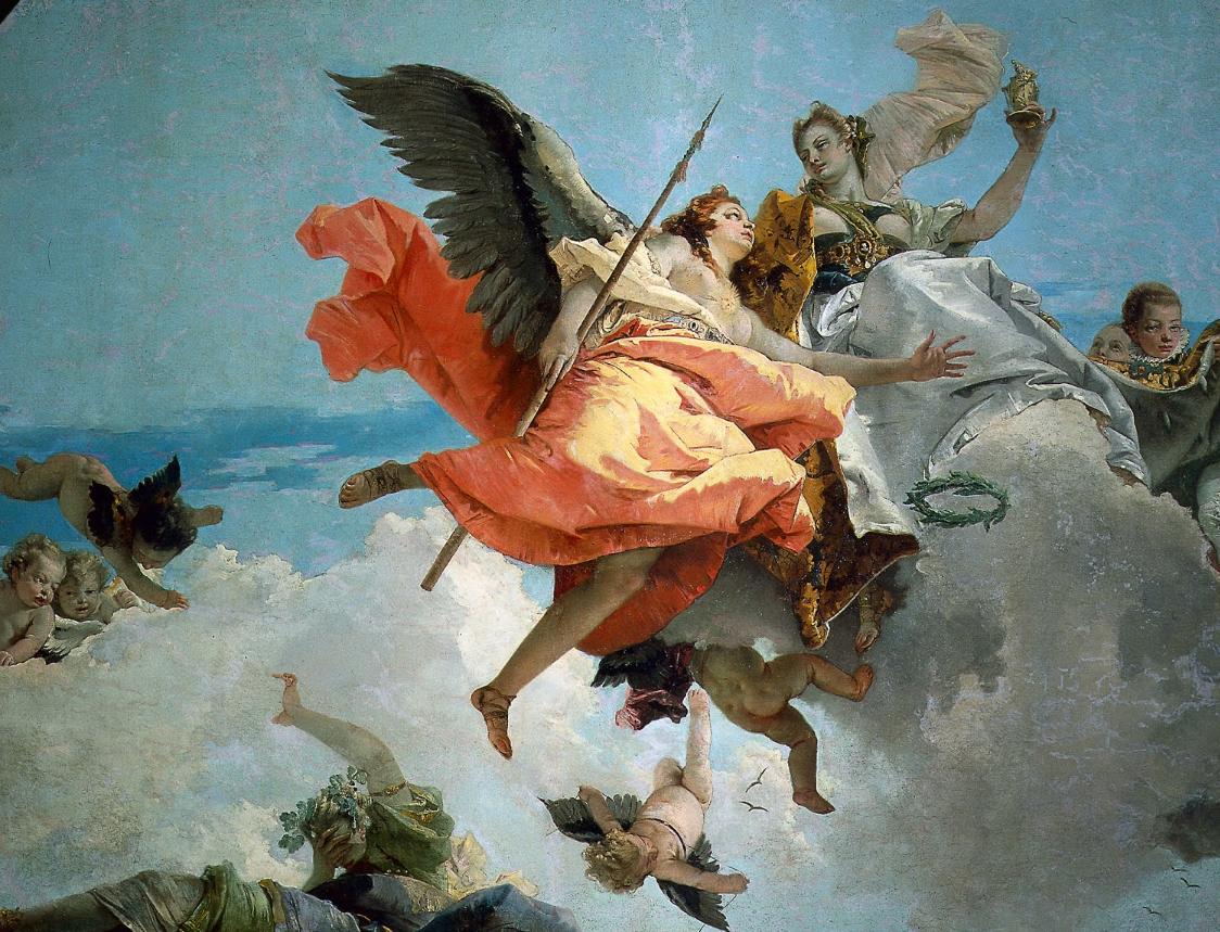 Gianbattista Tiepolo, Nobiltà e Virtù
