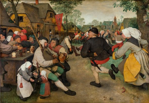 Pieter Brueghel il Vecchio - Danza di contadini, 1568 © Kunsthistorisches Museum, Vienna