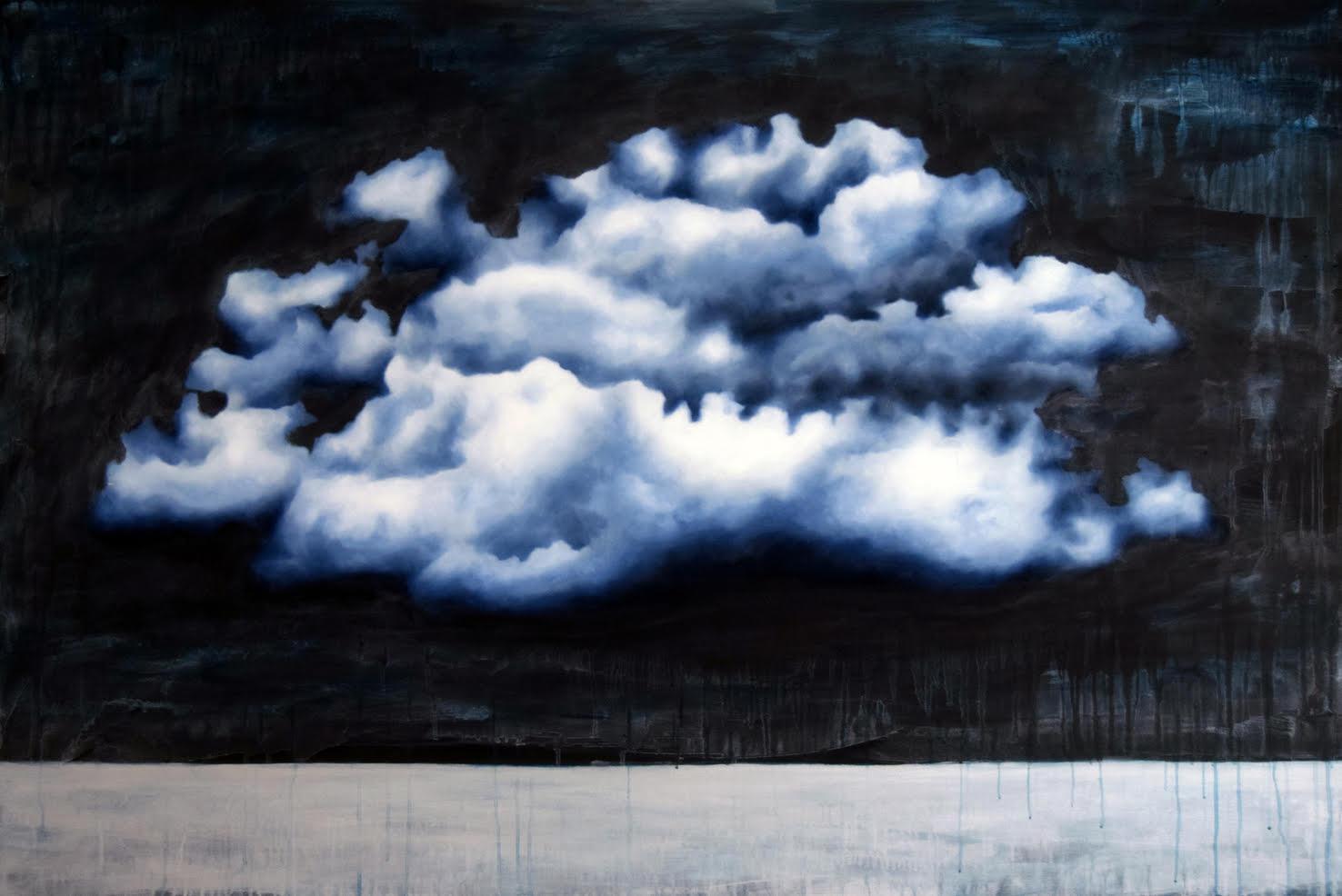 Studi di Nuvole, tra simboli e introspezione. La pittura di Morales a Milano