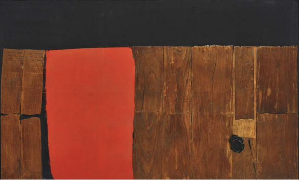 Invenduto l'Alberto Burri da 10 milioni in asta da Phillips a New York