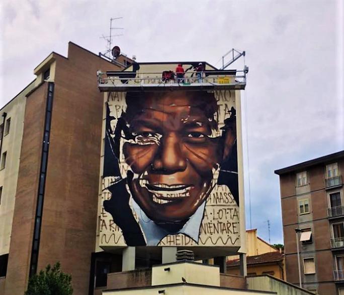 Nelson Mandela a Firenze