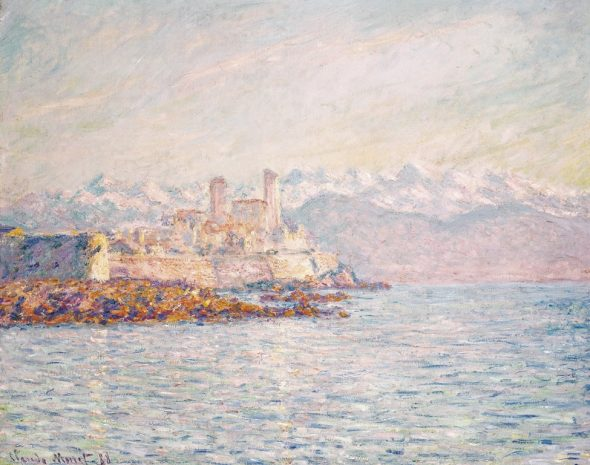 Claude Monet – Antibes, 1888 Collezione Pérez Simòn Ph. Arturo Piera