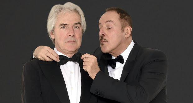 Massimo Lopez e Tullio Solenghi in scena al Manzoni di Milano