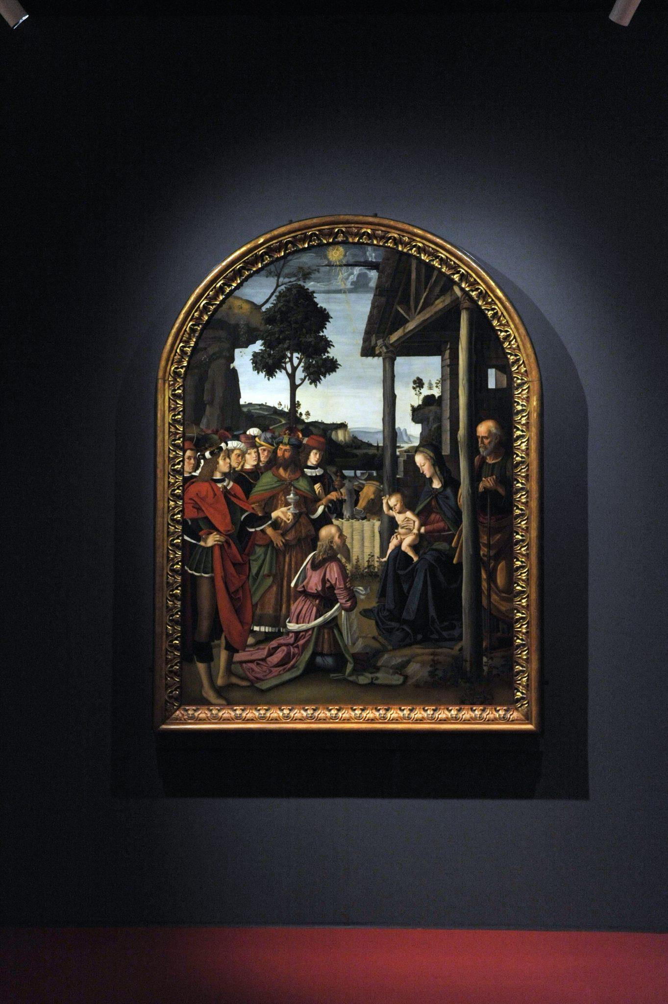 Perugino, Adorazione dei Magi, comune di Milano