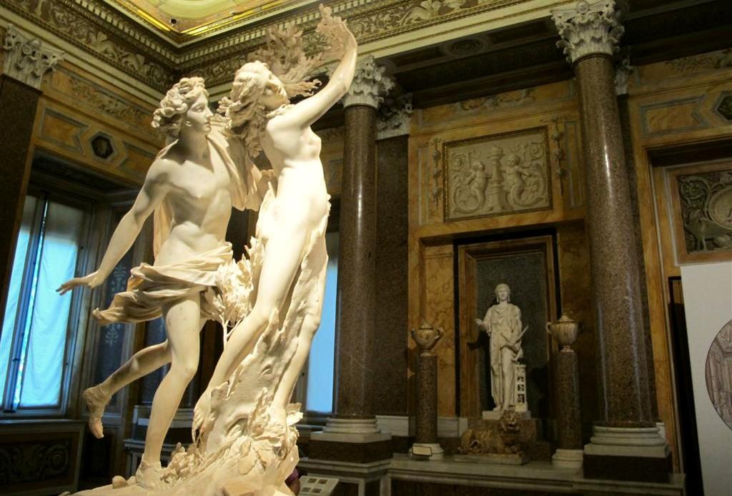 Bernini alla Galleria Borghese di Roma