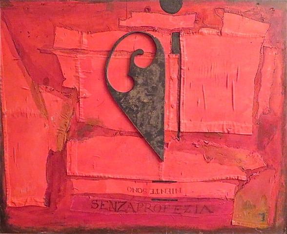 Bruno Ceccobelli - Carico d'anni, 1987 collez. Ventura, Camera di commercio Jesi