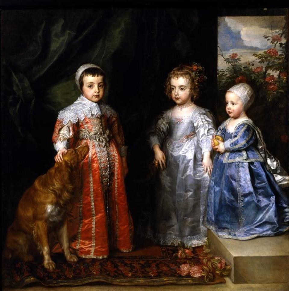 I tre figli maggiori di Carlo I