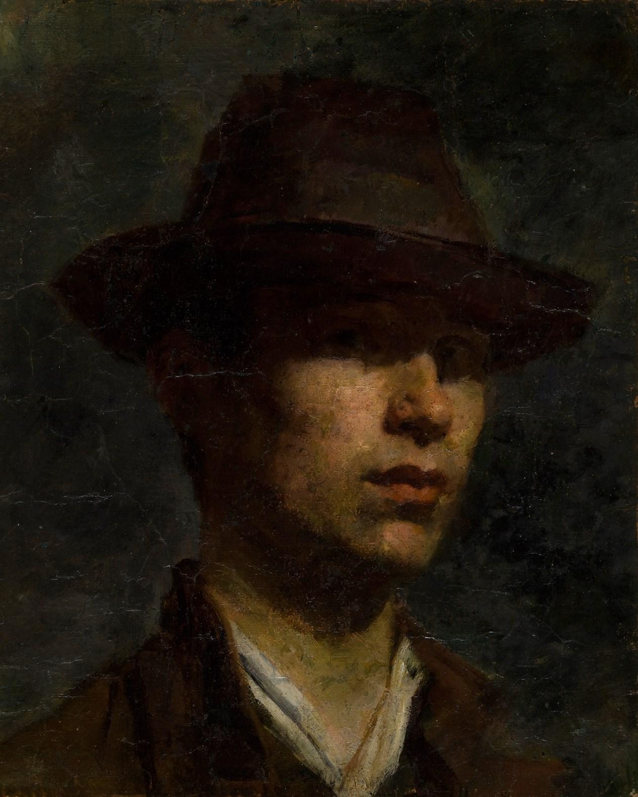 Carlo Fornara autoritratto