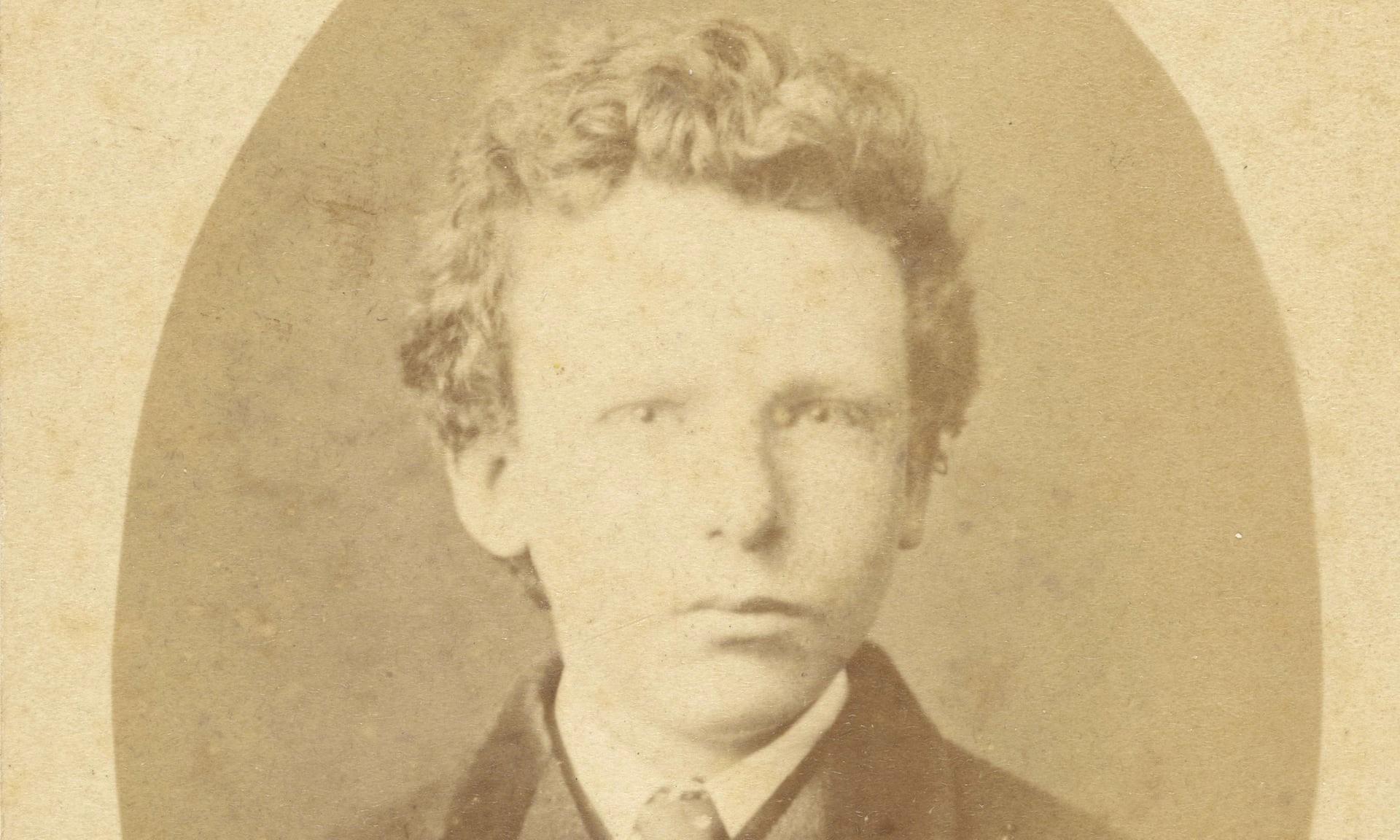 Il ritratto fotografico di Theo van Gogh, per anni scambiato per Vincent (foto van Gogh Foundation)
