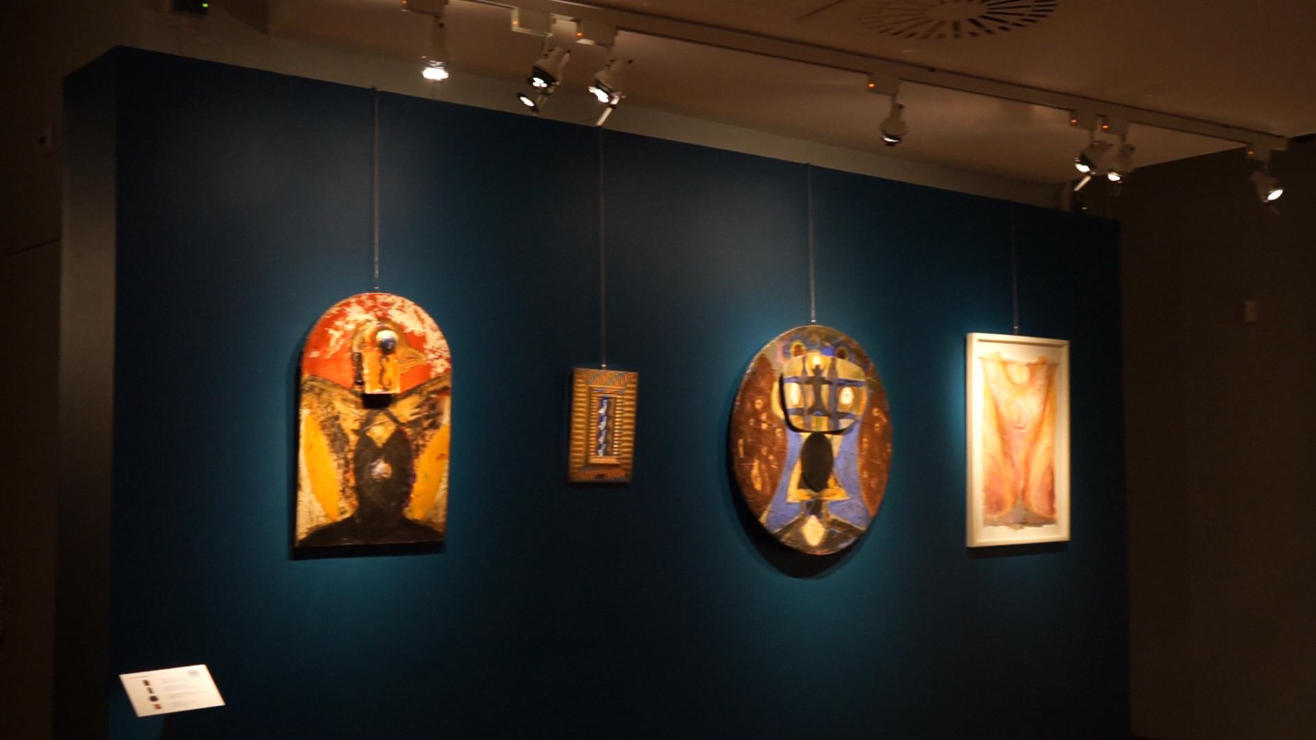 Bianchi, Ceccobelli, Dessì, Gallo, Nunzio, Pizzi Cannella, Tirelli.  Immagini della mostra della Scuola di San Lorenzo a Jesi