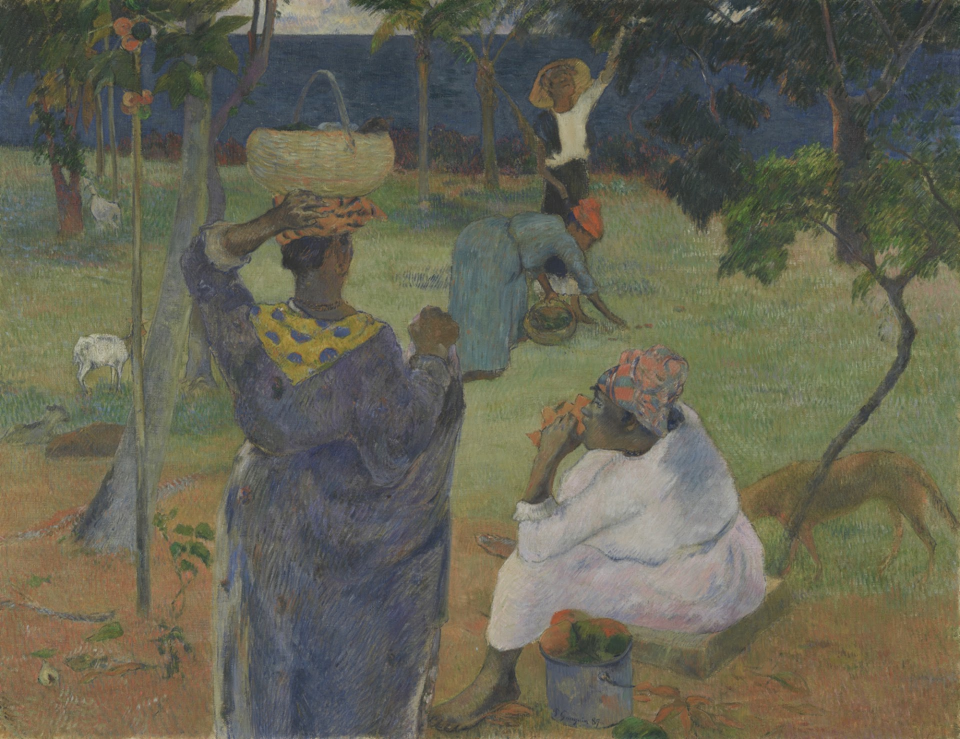 Paul Gauguin - Alberi di mango, Martinica, 1887 Van Gogh Museum, Amsterdam (Vincent van Gogh Foundation)