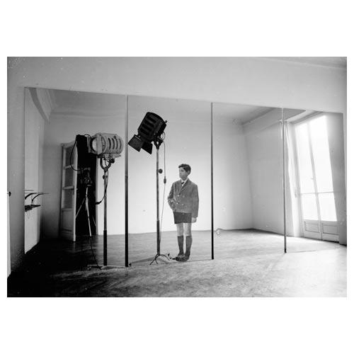 Michelangelo Pistoletto Biennale '66, 1962-1966 velina dipinta su acciaio inox lucidato a specchio, cm 230 x 480 Collezione Ileana Sonnabend, New York Foto: Paolo Bressano