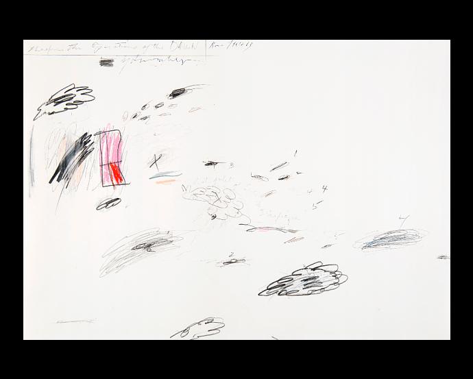 Tra segno e materia trionfa il silenzio. De Chirico domina Fontana e Twombly all'asta de Il Ponte