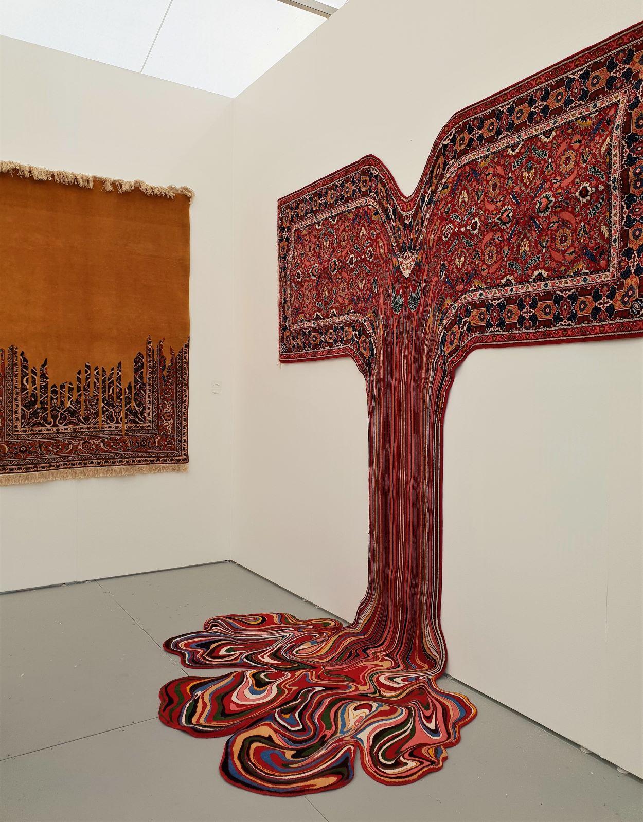 Faig Ahmed, Siddharta Gautama, 2017 (Sapar Contemporary)